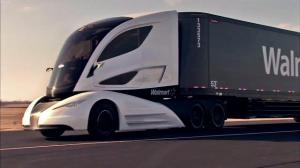 Walmart Advanced Vehicle Experience (WAVE) concept truck